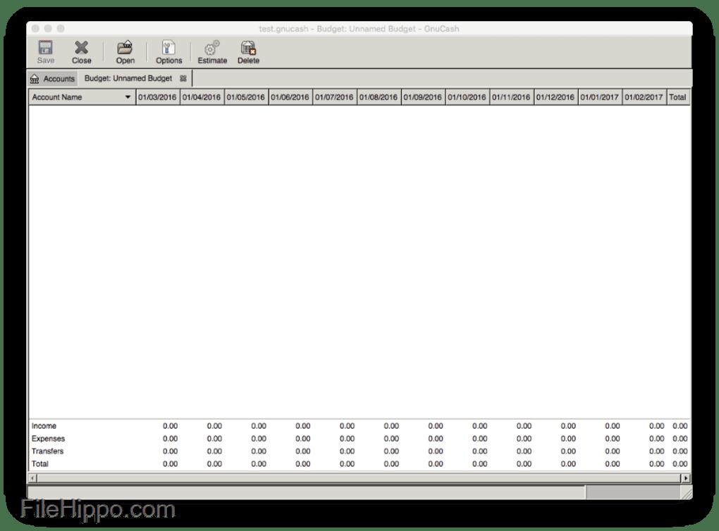 Descargar Gnucash For Mac 3 4 Para Mac Filehippo Com