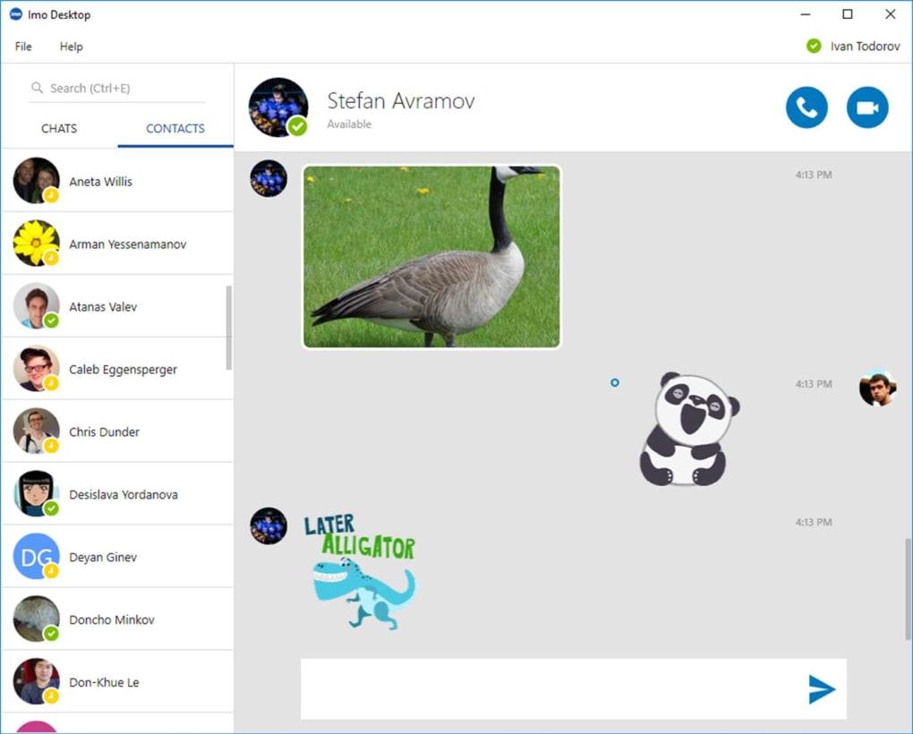 Imo Messenger لنظام التشغيل Windows