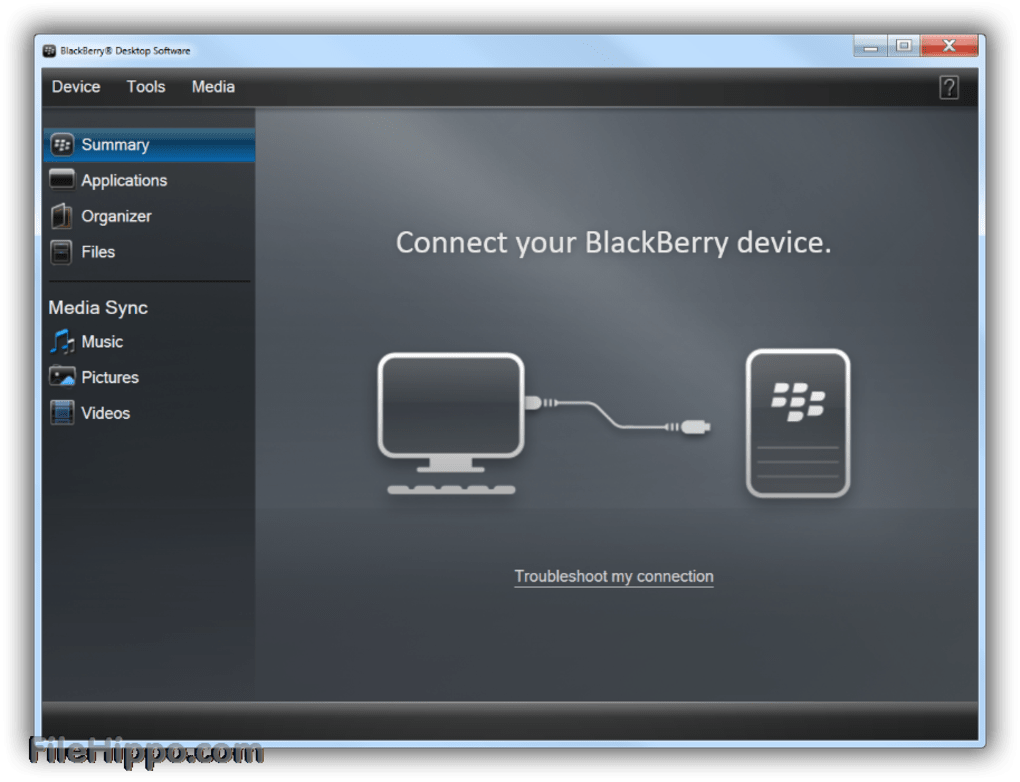 updating blackberry software on a mac