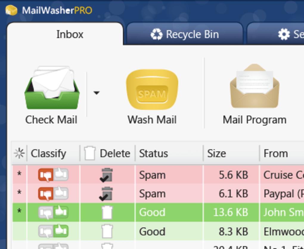 FREE MailWasher Software