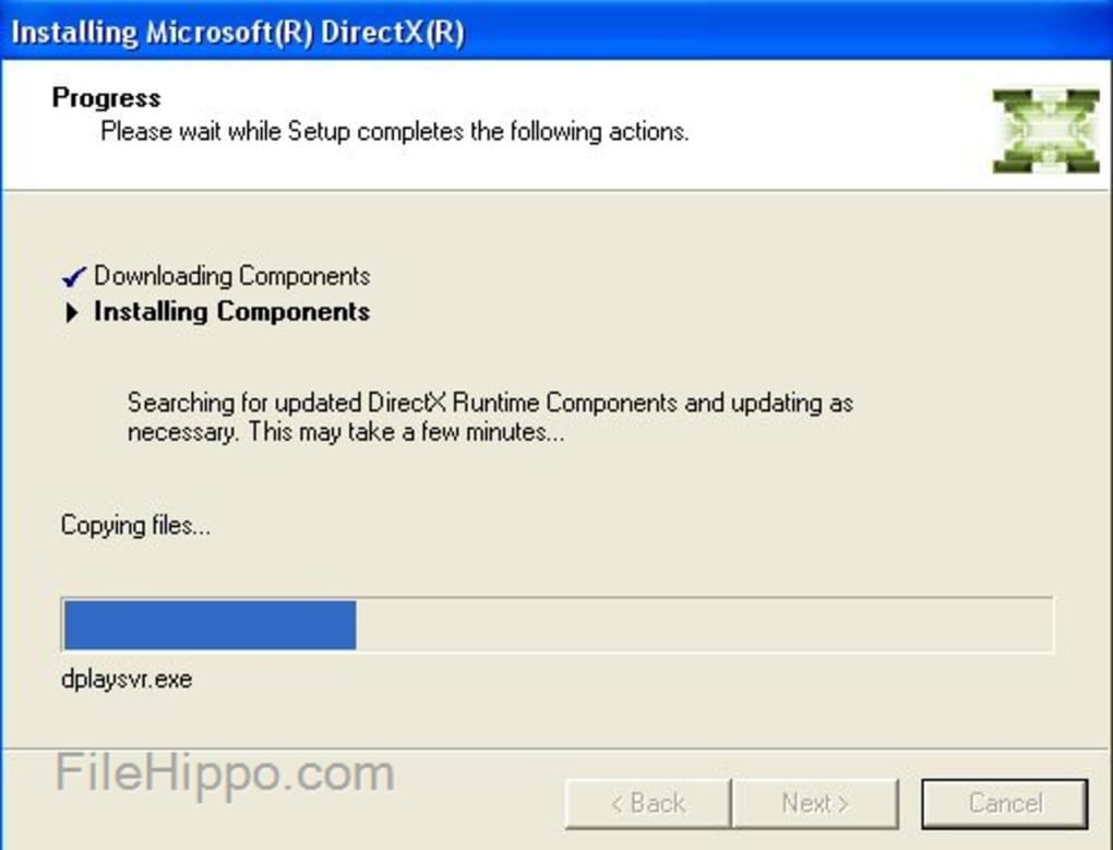 Windows 10 Directx 9