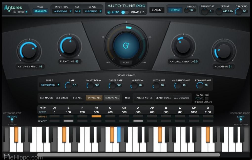Auto-tune Pro (Win) - VST Crack