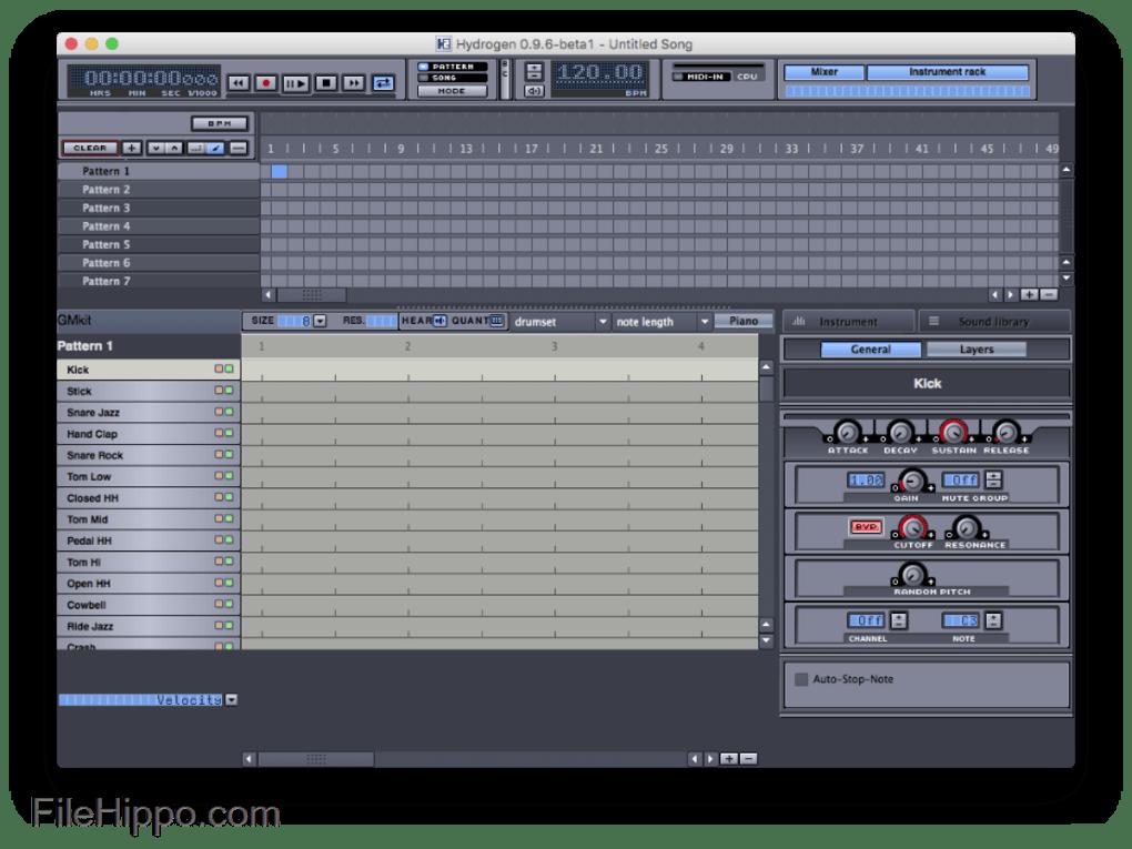 Hydrogen Drum Machine Windows 7 : mac hydrogen for mac 0 9 7 rc 1 ~ Vivirlamusica.com Haus und Dekorationen