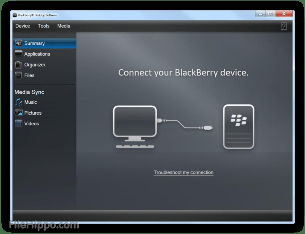 BlackBerry Desktop Manager Free Download for Windows 10, 7