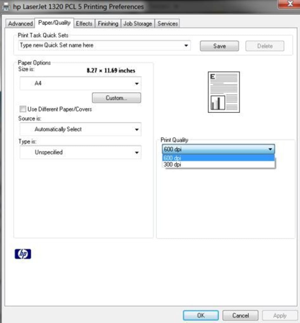 HP LaserJet 1320 Printer series Downloads van software en ...