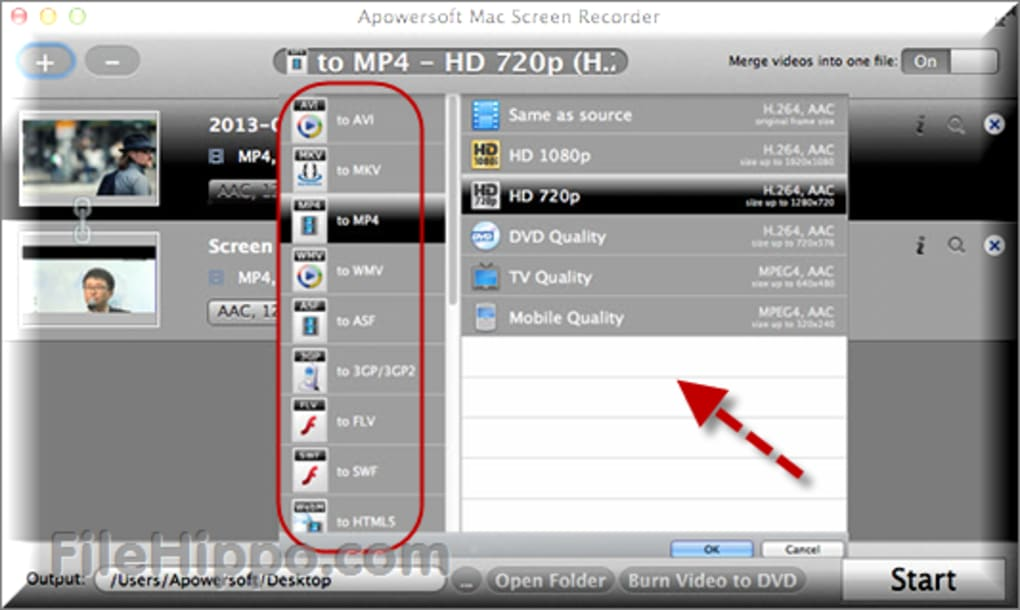 Apowersoft screen recorder download filehippo
