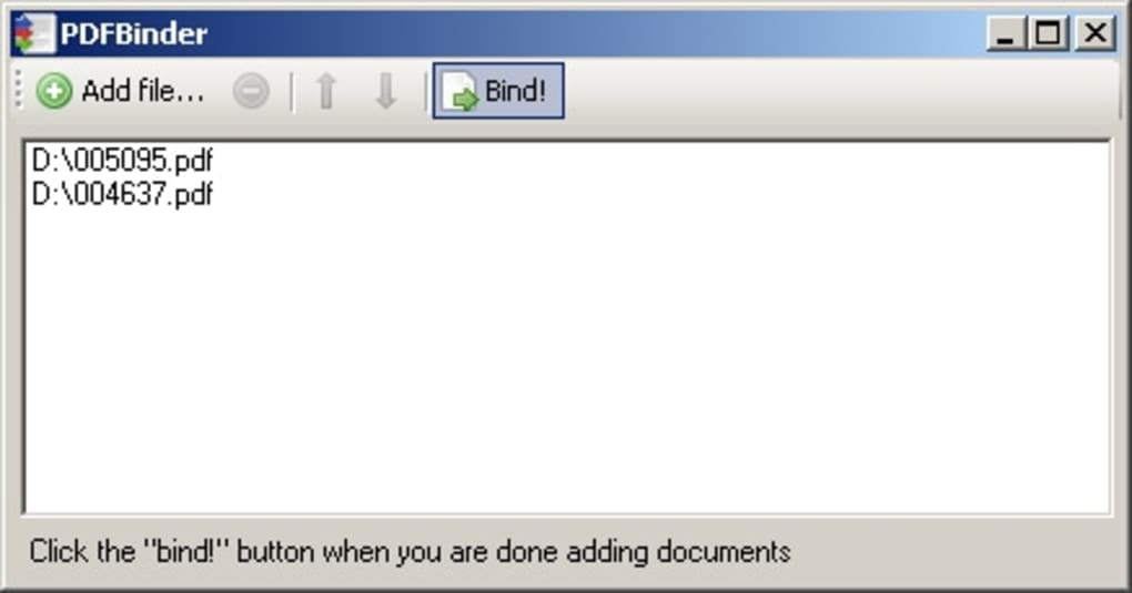 pdf binder download filehippo