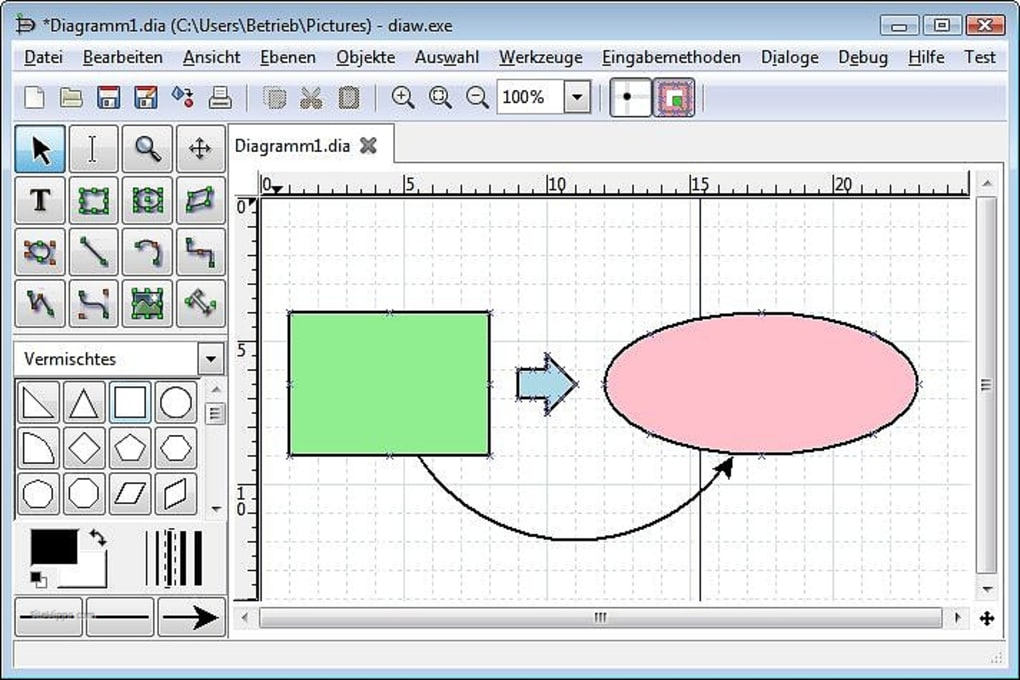 Download Dia Diagram Editor 0 97 2 For Windows