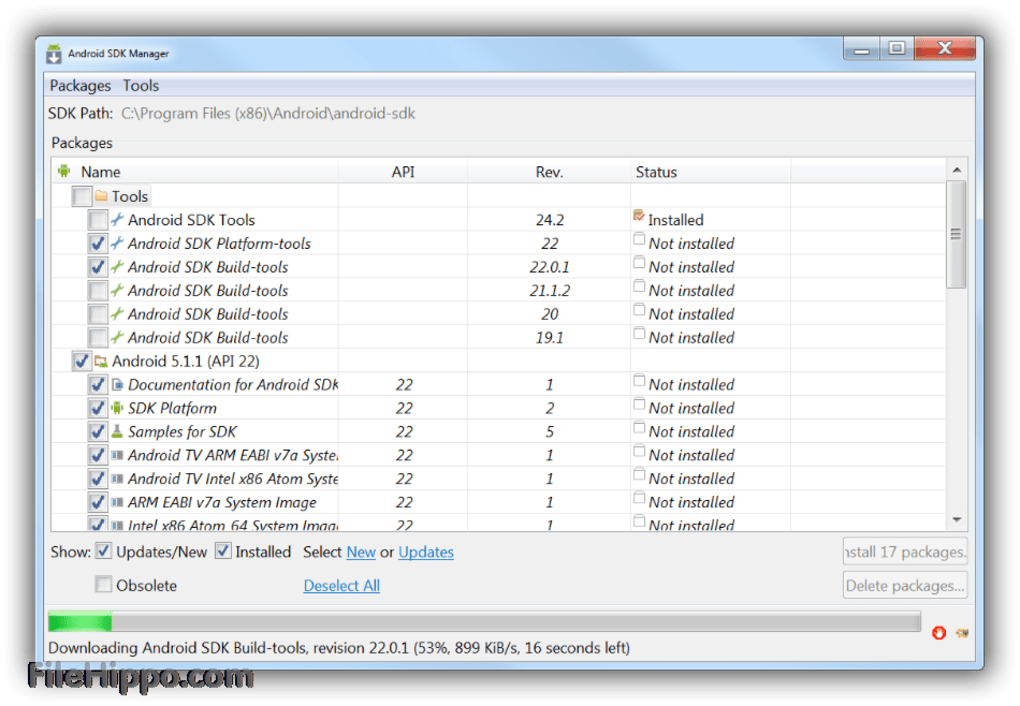 Android Sdk Windows X64 for Windows and Android - Free