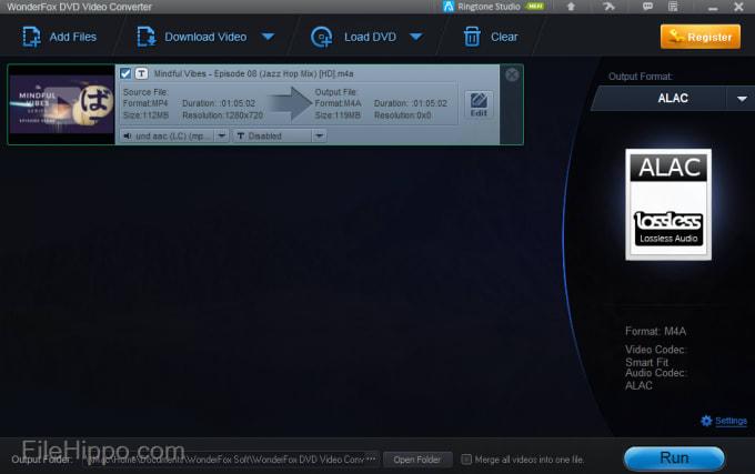 Télécharger WonderFox DVD Converter 17.2 pour Windows - Filehippo.com