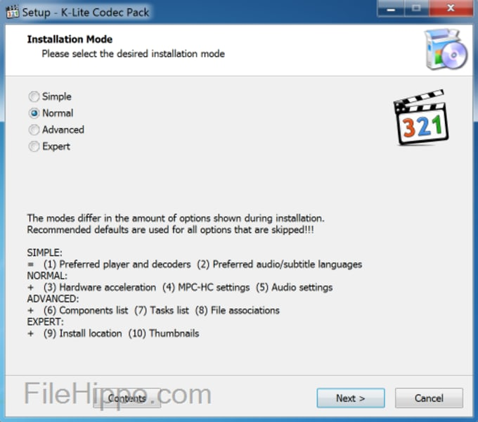 Download K Lite Codec Pack 16 0 2 For Windows Filehippo Com