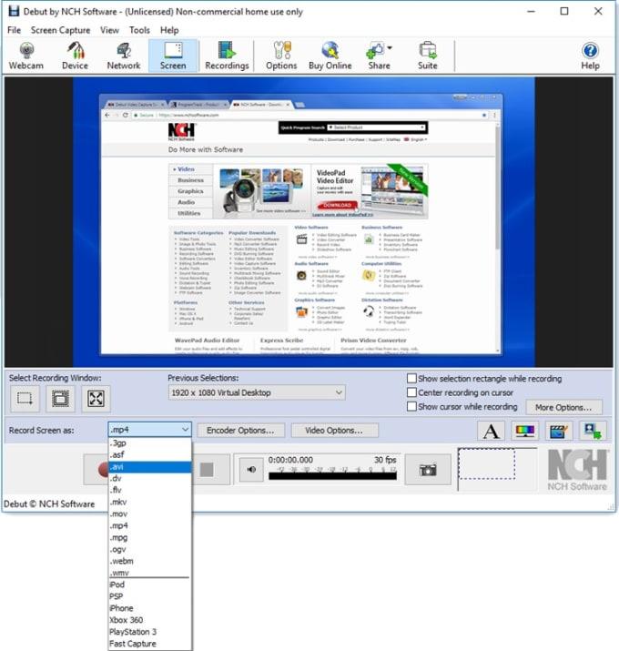 Wm capture software, free download 2020