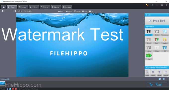 Download Watermark Software 8 7 For Windows Filehippo Com