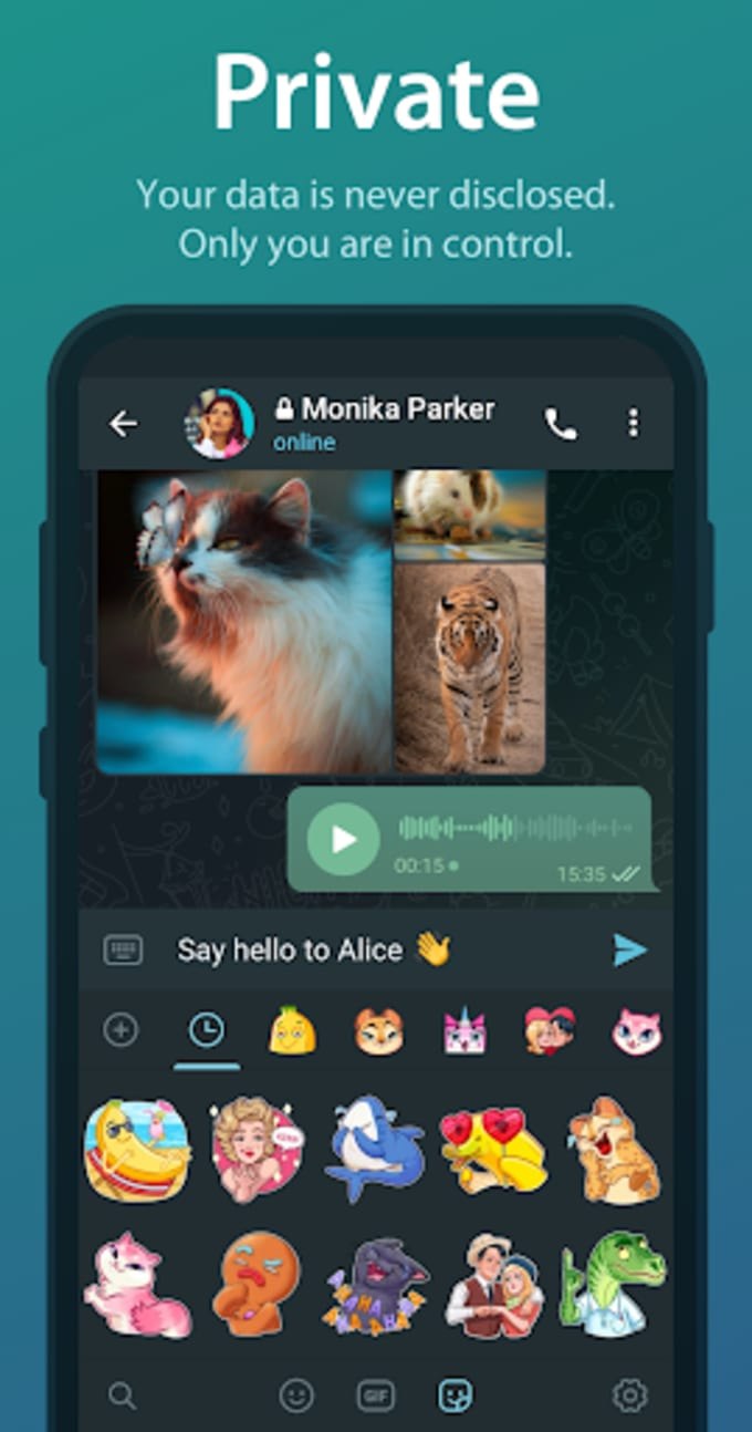 Download Telegram APK 2220.220.220 for Android   Filehippo.com