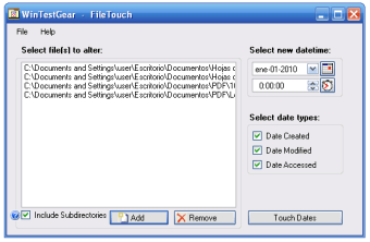 File Touch