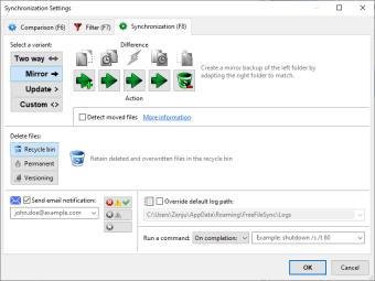 FreeFileSync for Windows