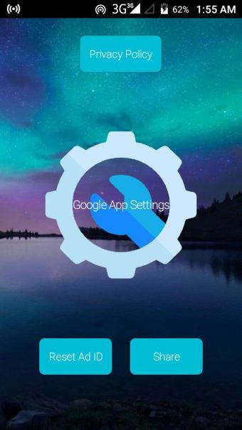Google App Settings Launcher