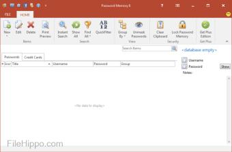 Download Password Memory 7 0 1 for Windows - Filehippo com