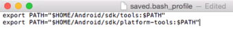 Android SDK for Mac