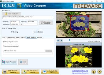 DRPU Video Cropper