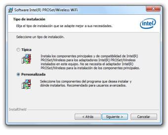 Intel PRO/Wireless and WiFi Link Drivers XP 64-bit