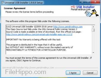 Download Universal USB Installer 1 9 8 6 for Windows