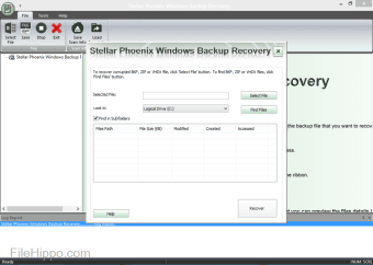 Stellar Phoenix Windows Backup Recovery