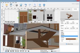 AMS Interior Design 3D