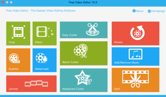 Free Video Editor for Mac