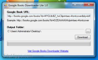 Google Books Downloader Lite