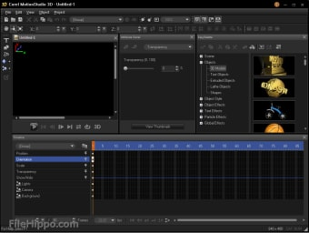 Download Corel MotionStudio 3D 1 0 for Windows - Filehippo com