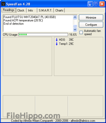 Download SpeedFan 4 52 for Windows - Filehippo com