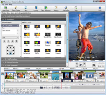 Download PhotoStage Free Photo Slideshow 5 20 for Windows