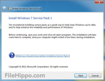 Download Windows 7 Service Pack 1 SP 1 for Windows