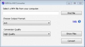 MP4 to AVI Converter