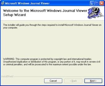 Microsoft Windows Journal Viewer