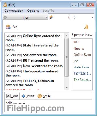 msn messenger chat rooms