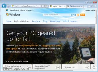 Internet Explorer Vista