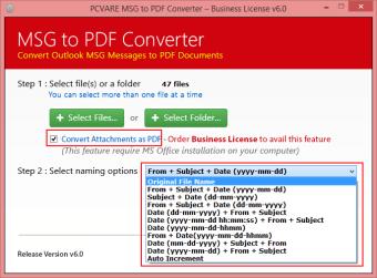 MSG to PDF Converter