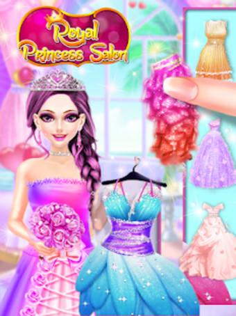 Royal Princess Makeup Salon Dress-up Games