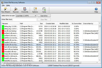 Download NCH Orion File Recovery 1 11 for Windows