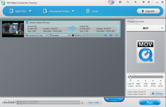 Wonderfox HD Video Converter Factory Free
