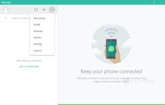 WhatsApp Messenger 64-bit for PC Windows