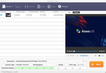 Aiseesoft Free DVD Creator for Mac