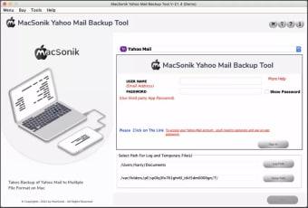 MacSonik Yahoo Mail Backup Tool