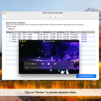 Stellar Video Repair for Mac