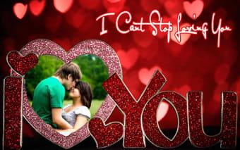 Love Photo Frame - Love Collage