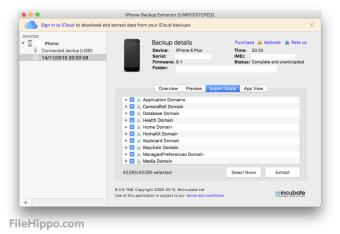 iPhone Backup Extractor for Mac