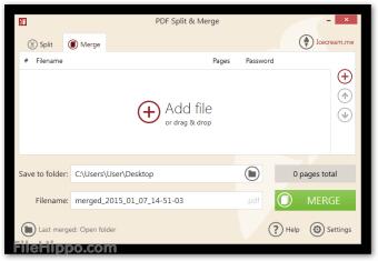 Icecream PDF Split&Merge