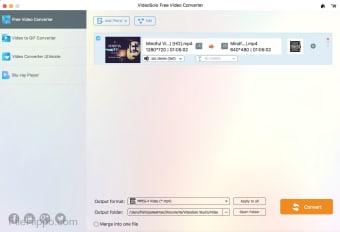 VideoSolo Free Video Converter for Mac